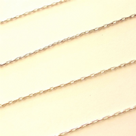 Silver Plated 0.8mm Beading Chain Pk of 1M